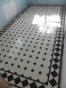 black and white tiled bathroom ideas tiled hallways herts