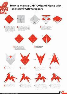 Origami Horse  Origami And Diy Origami On Pinterest