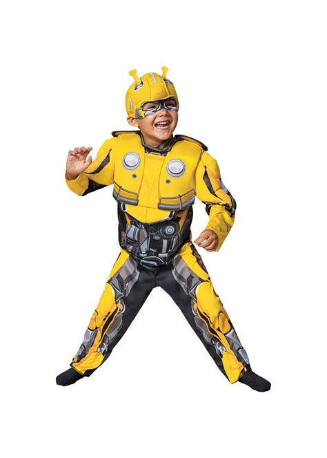 Transformers Bumblebee Toddler Costume  Cosplay Costumes