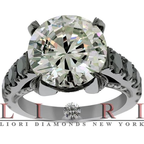 cheap black engagement rings for less lioridiamonds yelp
