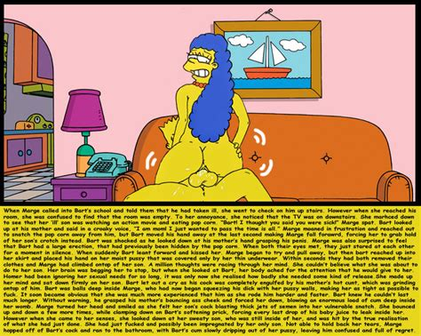 Pic Bart Simpson Marge Simpson The Simpsons Simpsons Porn