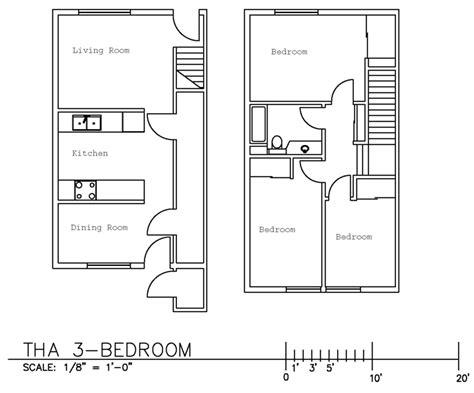 100 3 bedroom townhouse floor plans 3 bedroom ewu townhouse floor plans