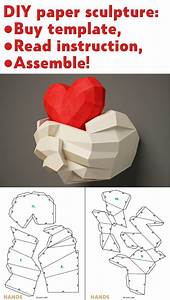 Printable Papercraft Heart