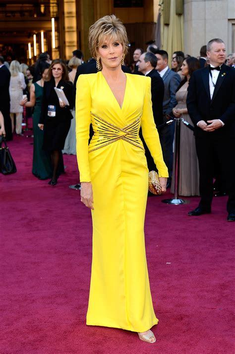 Jane Fonda The Red Carpet Oscars All