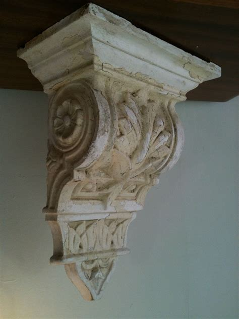 Architectural Corbel by Antique Plaster Corbel Home Is Where The Is