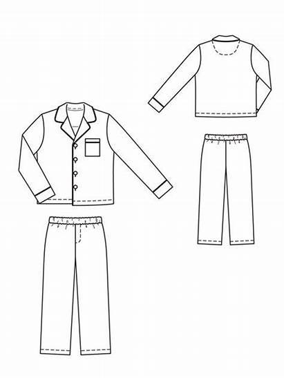 Pajama Pajamas Pyjamas Pattern Patterns Sewing Boys