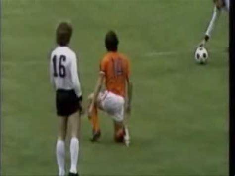 Футбол. Чемпионат мира - 1974. Финал. ФРГ - Голландия - YouTube
