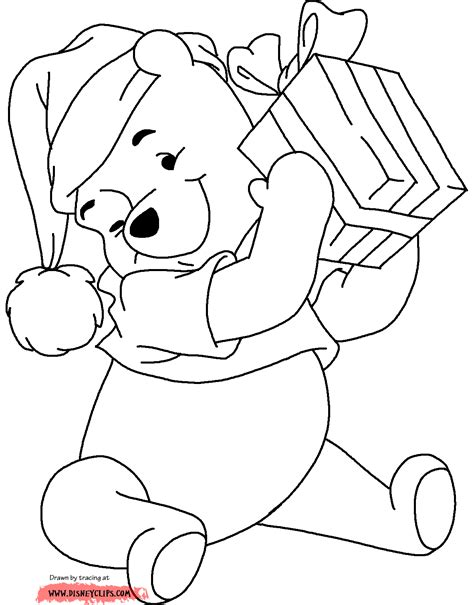 1000 Images About Coloring Pages Disney Christmas On
