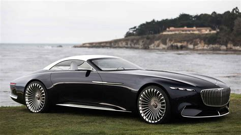 New Maybach 2017 by 2017 Vision Mercedes Maybach 6 Cabriolet Vrooms Ahead With
