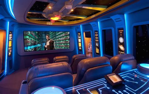 a custom quot star wars quot themed home theater
