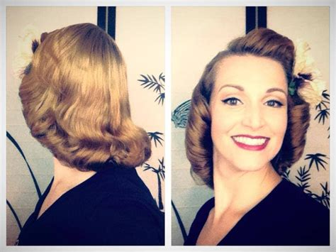 1940s Hairstyle Tutorial by The 1940 S Pageboy Tutorial Basic Authentic Methods