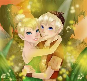 Tinkerbell and Terence by VanillaKeyblade on DeviantArt
