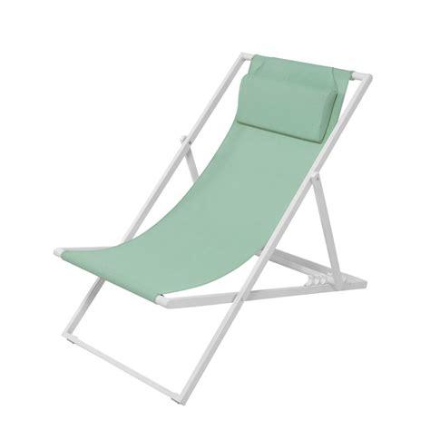 chaise chilienne chaise longue de jardin meubles de jardin coussin coussin