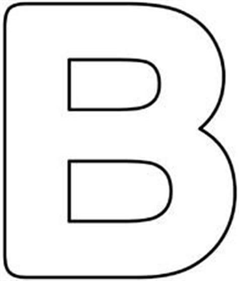 Buchstaben schablone zum ausdrucken din a4 from ausmalbild.club. Blanko-Buchstaben   Appli   Pinterest