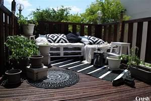 decoration exterieur pour balcon et veranda en 62 idees With tapis de sol avec canapés fabrication française