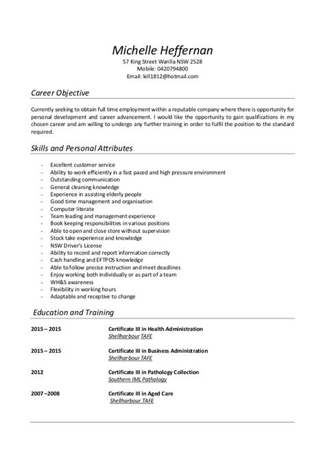 Updated Resume Sles 2015 by Heffernan Updated Resume 2015