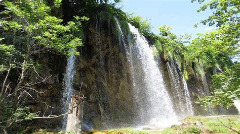 kaempe naturoplevelse  plitvice nationalpark  kroatien