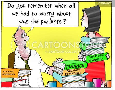 nhs management cartoons  comics funny pictures