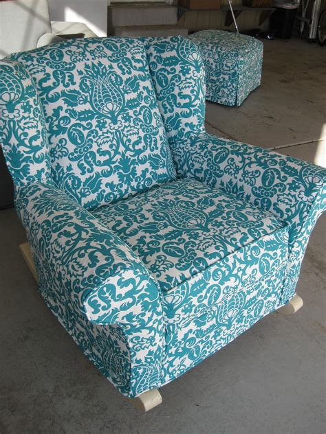 slipcover for glider rocking chair custom slipcovers by shelley upholstered rocking chair