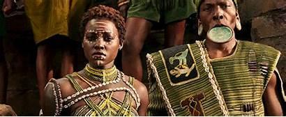 Panther Nakia Lupita Wakanda Nyongo Pantera Marvel