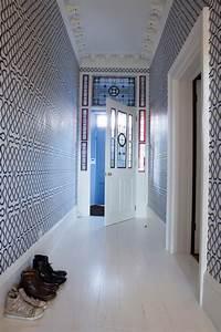 Papier Peint Pour Couloir : d co couloir ~ Melissatoandfro.com Idées de Décoration