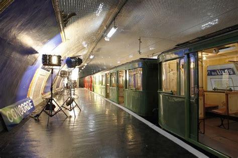 porte des lilas un v 233 ritable plateau de cin 233 ma dans le m 233 tro parisien 16 juillet 2012