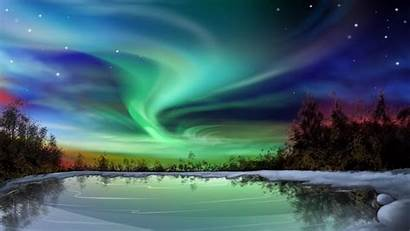 Aurora Borealis Geographic National Wallpapers Wednesday
