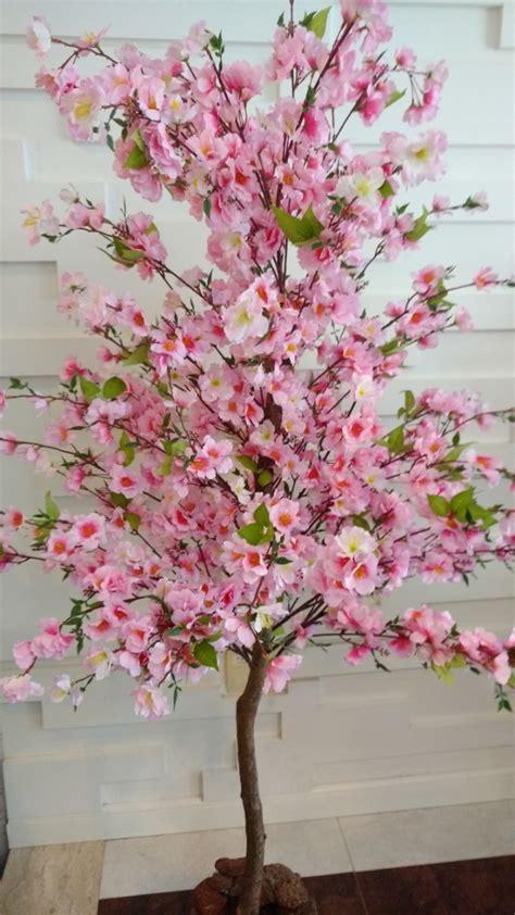 planta artificial arvore cerejeira sakura  metros altura   em mercado livre