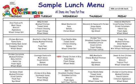 childcare lunch menu search meals for the day 996 | d37125384a91022cff129eb0035cb00c