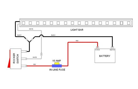 Led Light Bar Wiring Diagram For Truck by Light Bar Wiring Diagram With Wire Truck Cree Led