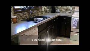 How to Gel Stain Kitchen Cabinets - YouTube