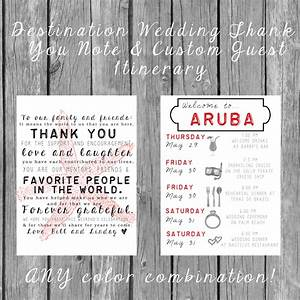 destination wedding welcome bag letters and guest by With destination wedding welcome letter