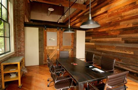 seattle office space wooden office eoffice coworking office design workplace technology