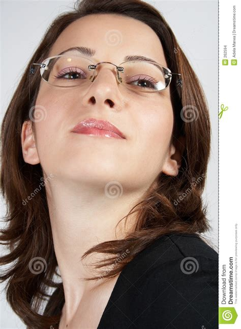 business woman  glasses  stock images image