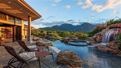 Hawaii Kauai Pool Villa Desktop Resort Wallpapers