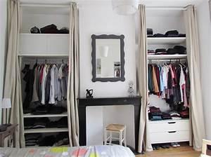 Dressing Ikea Prix : ikea penderie dressing je dlimite luespace de mon studio ~ Teatrodelosmanantiales.com Idées de Décoration