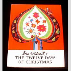 The Twelve Days Of Christmas A Carol Book  Old Children's Books