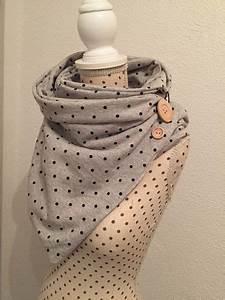 Schal Selber Nähen : jerseyschals wickelschal ein designerst ck von jennifer guse bei dawanda fashion ~ Orissabook.com Haus und Dekorationen
