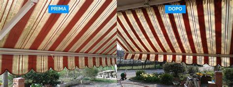 lavaggio tende da sole lavaggio tende da sole prima dopo lavaggio tende