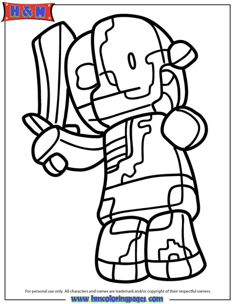 minecraft zombie pigman coloring pages coloring home