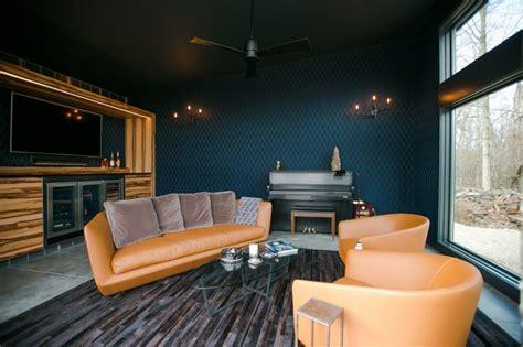cigar room retreat  interior collective