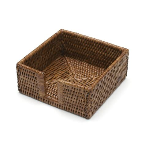 napkin holders rattan cocktail napkin holder paperstyle