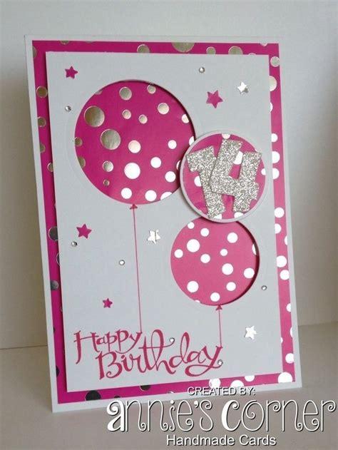 beautiful handmade birthday cards  girls handmade