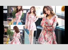 Korean Fashion Style Dress Spring & Summer 2014 YouTube