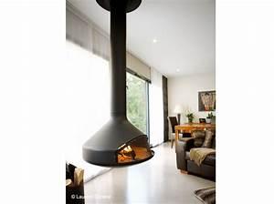 Poele Suspendu Design : un po le design dans le salon elle d coration ~ Melissatoandfro.com Idées de Décoration