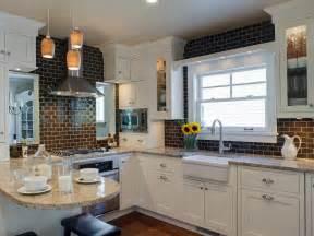 subway tile kitchen backsplashes photo page hgtv