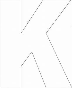 9 best images of large printable bold cut out letters With giant letter k