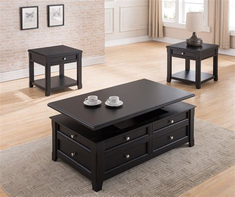 Two small rectangles tables are constructed then hinged together to create one large table. Darby Home Co Kaitlinn Rectangular Coffee Table with Storage by Simmons Casegoods & Reviews ...