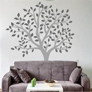 tree flower wall stickers and wall vinyls by wallboss With good look big tree decals for walls