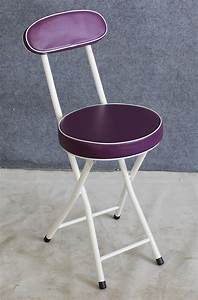 Small, Round, Folding, Chair, With, Durable, And, Padded, Seating, Supplier
